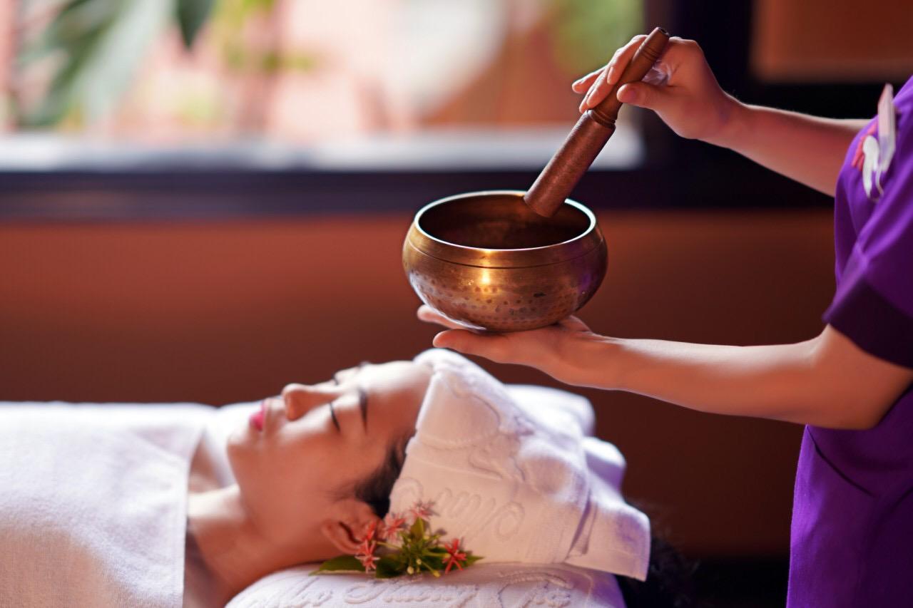 healing bowl massage